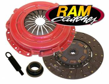 "Ram Automotive - RAM Automotive Mustang 4.6 01-04 Clutch 11"" x 1-1/16"" 10 Spline"