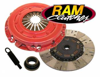 Ram Automotive - RAM Automotive HD Power Grip Clutch Set 86-95' Mustang 5.0L