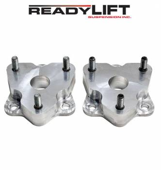 ReadyLift - ReadyLift 2 in. Front Leveling Kit - Steel Strut Extensions Allows Up To 35 in. Tire