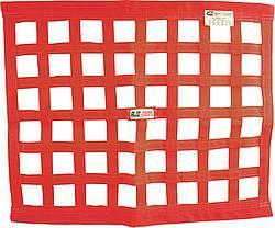 "RJS Racing Equipment - RJS Red Ribbon Window Net - 24"" x 24"""