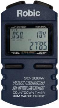 Robic - Robic SC-606W 50 Lap Memory Stopwatch w/ Countdown Timer