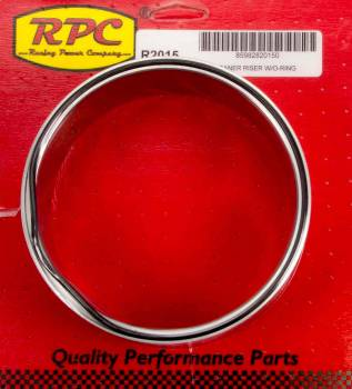 "Racing Power - Racing Power 2-1/2"" Thick Air Cleaner Spacer 5-1/8"" Carb Flange Aluminum Natural - Each"