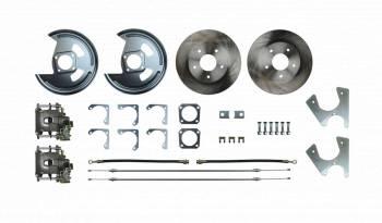 Right Stuff Detailing - Right Stuff Detailing Rear Disc Conversion Kit GM 10/12 Bolt Stag Shock