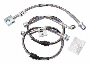 Russell Performance Products - Russell Street Legal Stainless Steel Brake Line Kit 84-92 GM F-Body