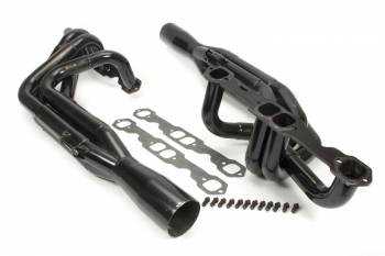 """Schoenfeld Headers - Schoenfeld Headers Sprint Headers 1-3/4 to 1-7/8"""" Primary 2"""" Collector Steel - Black Paint"""