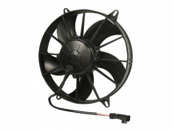 "SPAL Advanced Technologies - SPAL 11"" Puller Fan Curved Blade - 1604 CFM"