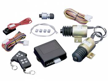 SPAL Advanced Technologies - SPAL Shaved Door Kit w/ Two 40LB Solenoids - 7 Channel Remote