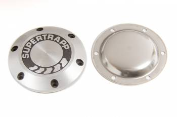 "Supertrapp - SuperTrapp 4"" Aluminum End Cap & Shield w/ Logo"