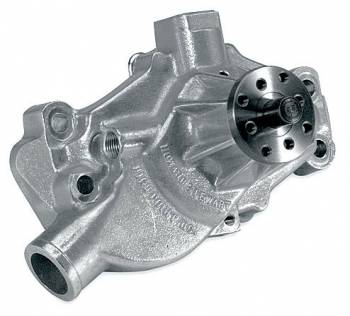 Stewart Components - Stewart Stage 4 Aluminum Water Pump - Chevrolet SB - Short