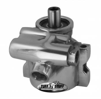 Tuff Stuff Performance - Tuff Stuff GM LS1 Power Steering Pump Polished Aluminum