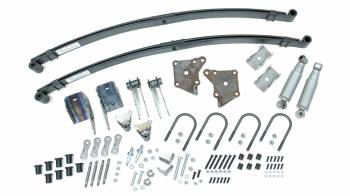 Total Cost Involved Engineering - Total Cost Involved Eng. Brackets/Hardware/Leaf Spring/Shocks Rear Suspension Kit Steel Natural Ford 1935-48 - Kit