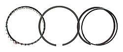 """Total Seal - Total Seal Gapless Top Ring File-Fit Ring Set - Cast Iron - 4.130"""" Bore - Top Ring: 1/16"""" - 2nd Ring: 1/16"""" - Oil Ring: 3/16"""" - 8-Cylinder - Set of 8"""