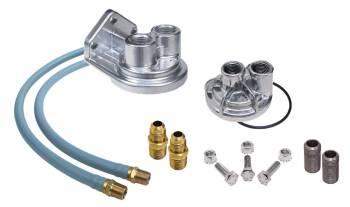 Trans-Dapt Performance - Trans-Dapt Single Oil Filter Relocation Kit - 18mm x 1.5 Threads