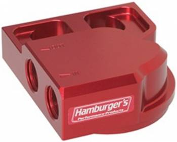 Hamburger's Performance Products - Hamburger's Performance Remote Oil Filter Base