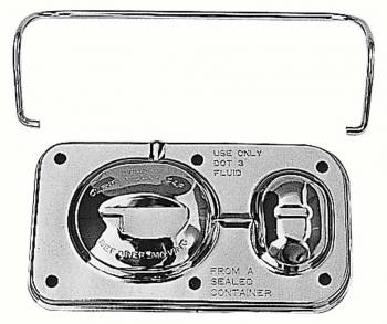 Trans-Dapt Performance - Trans-Dapt Brake Master Cylinder Cover - 3 in. x 5 1/16 in.