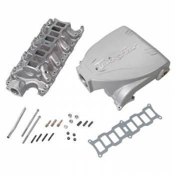 Trick Flow - Trick Flow Intake Manifold Ford 5.0L Track Heat Silver
