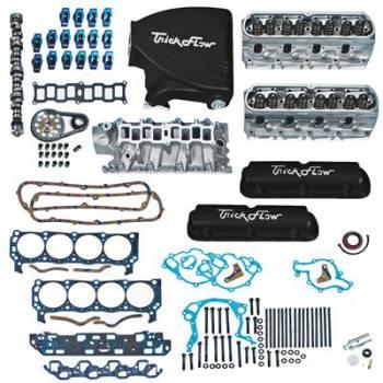 Trick Flow - Trick Flow Top End Engine Kit Twist ed Wedge 360HP SBF 5.0L