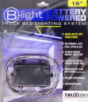 "Truxedo - Truxedo B-Light Bed Light System 18"" Long White LED Battery Powered - Under Rail Mount"