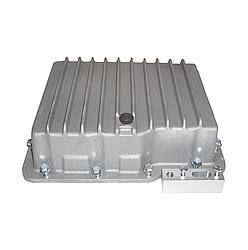 Transmission Specialties - Transmission Specialties Deep Sump Transmission Pan Finned Aluminum Natural - Powerglide