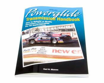 TSR Racing Products - Tsr Racing Products Powerglide Transmission Handbook Book 234 Pages - Paperback