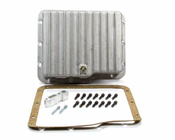 TSR Racing Products - Tsr Racing Products Deep Sump Transmission Pan Adds 2.0 qt Capacity Aluminum Natural - GM Powerglide