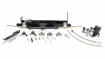 Unisteer Performance - Unisteer 1968-72 Chevrolet Chevelle Power Rack and Pinion Kit with BBC