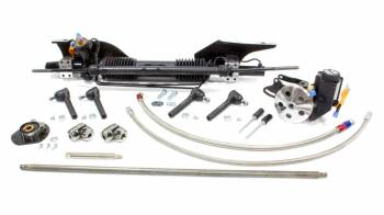 Unisteer Performance - Unisteer 1965 & 66 Mustang Power Steering Rack & Pinion for Small Blocks