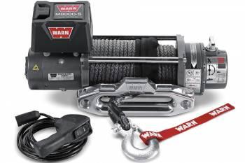 Warn - Warn M8000-S Winch w/ Syhthetic Rope