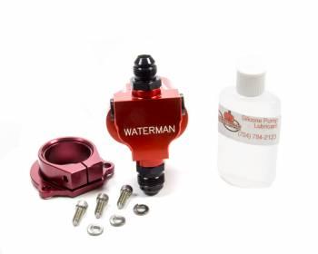 Waterman Racing Components - Waterman Racing Components Light Weight Sprint Hex Driven Fuel Pump 400 gph Inline 12 an Male Inlet - 8 AN Male Outlet