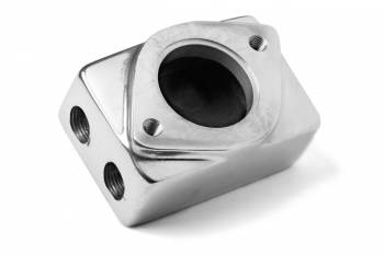 Weiand - Weiand Supercharger Remote Thermostat Housing - Polished Finish