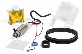 "Walbro - Walbro Electric -"" Tank Fuel Pump 255 lph Install Kit Gas - Dodge Dakota/Ram 1995-2001"