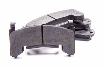 "Wilwood Engineering - Wilwood Gator Brake Pads - Semimetallic - Fits GM Metric - ""Smart Pad"" BP-10 Compound"