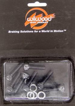 "Wilwood Engineering - Wilwood Rotor Bolt Kit - 8 Pc. - 5/16-18 x 1"""