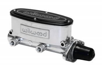 "Wilwood Engineering - Wilwood Tandem Chamber Master Cylinder (Polished Finish) - 1.12"" Bore"