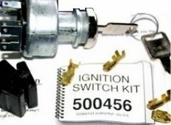 American Autowire - American Autowire Heavy Duty Blade Type Ignition Switch w/Terminals
