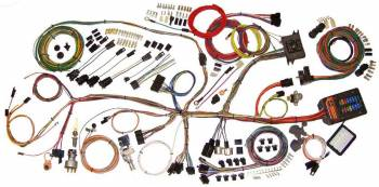 American Autowire - American Autowire 62-67 Nova Wiring Hrness System