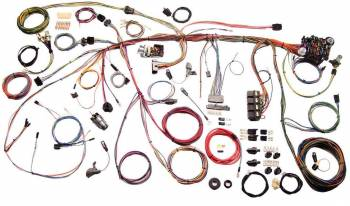 American Autowire - American Autowire Wiring Harness 69 Mustang