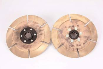 "Ace Racing Clutches - Ace Racing Clutch Pack - 7.25"" - 2 Disc - 1-1/8"" x 10 Spline"