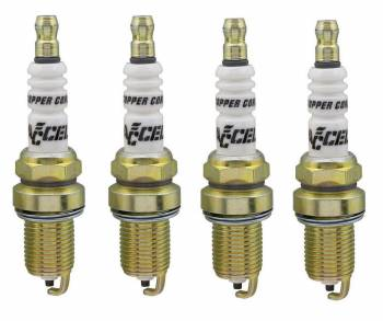 Accel - ACCEL Resistor Racing Plug - (4 Pack)