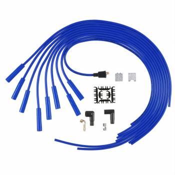 Accel - ACCEL Universal Fit Super Stock 8mm Spiral Spark Plug Wire Set - Blue