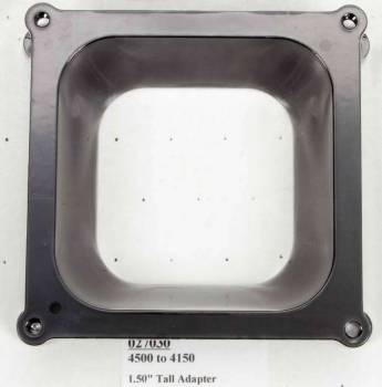 Wilson Manifolds - Wilson Manifolds Carburetor Adapter - 4500 to 4150 - 1.5""