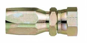 Aeroquip - Aeroquip -10 AN Straight Steel High Pressure Hose Fitting - Straight SAE 37° (JIC/AN) Swivel