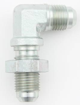 Aeroquip - Aeroquip Steel -08 AN 90° Bulkhead Union Adapter