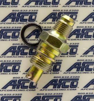 AFCO Racing Products - AFCO Power Steering Pump Pressure Outlet Fitting - TC Style