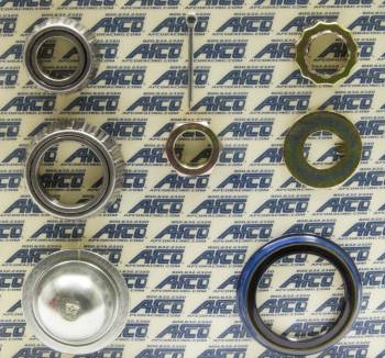 AFCO Racing Products - AFCO Hybrid Hub Brake Rotor Master Install Kit