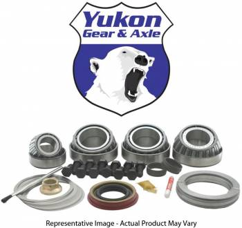 """Yukon Gear & Axle - Yukon Gear & Axle Master Overhaul Differential Installation Kit Bearings/Solid Spacers/Gaskets/Hardware/Seals/Shims 2.891 ID Case Ford 9"""" - Kit"""