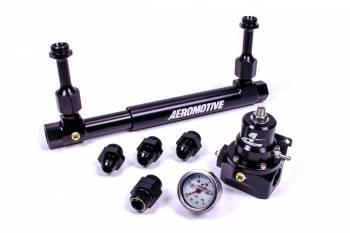 Aeromotive - Aeromotive Adjustable Fuel Log w/ 13214 2-Port Regulator