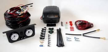 Air Lift - Air Lift Load Controller II On-Board Air Compressor Control System - Dual Gauge