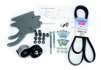 Alan Grove Components - Alan Grove Components Air Conditioning Bracket - LS Truck Motor - RH - Low Profile