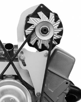 Alan Grove Components - Alan Grove Components Alternator Bracket - SB Chevy - Short Water Pump - LH - High Mount
